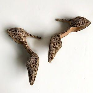 J. Crew Shoes - J. Crew Lana calf hair d'orsay pumps